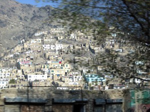 homes on TV hill Kabul