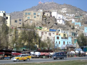base of TV hill Kabul